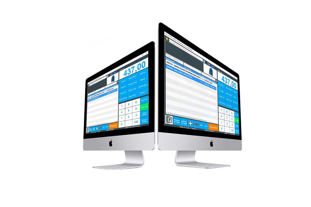 Logiciel de caisse enregistreuse pour mac logiciel qr gestion - Caisse apple ...